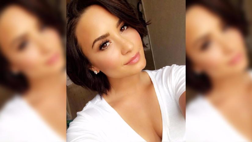 Demi Lovato alborota las redes sociales con selfie desnuda