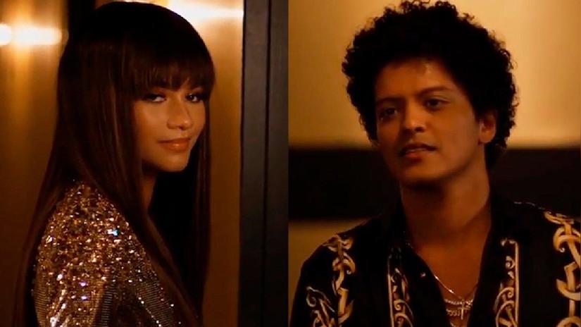 Bruno Mars lanza nuevo videoclip protagonizado por Zendaya