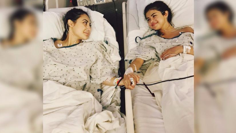 Selena Gomez compartió que recibió un trasplante de riñón