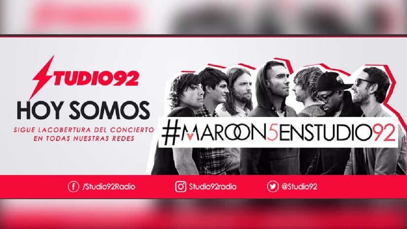 Maroon 5 en Lima: Minuto a Minuto cobertura del concierto