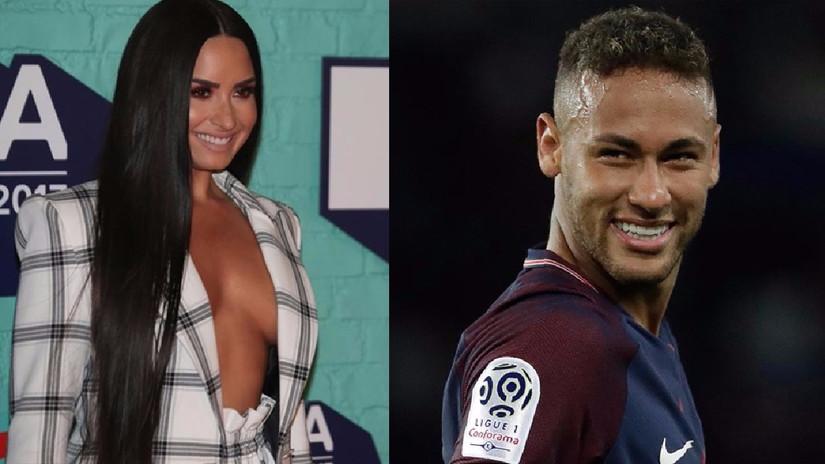 ¿Existe un romance entre Demi Lovato y Neymar? (FOTOS)