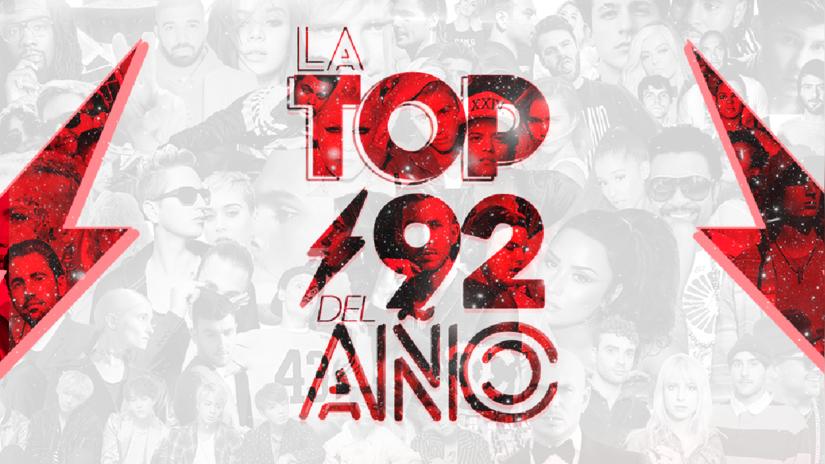 La Top92 del Año: Vota por la canción del año en Studio92