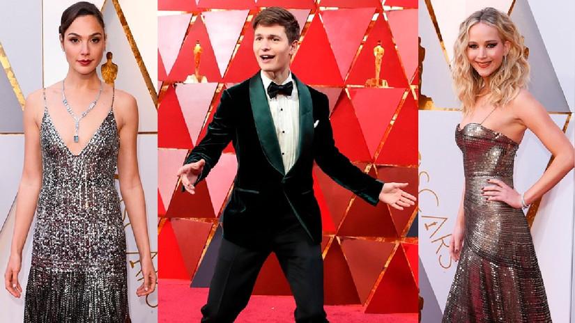 Los mejores looks de la alfombra roja de los Premios Oscar 2018