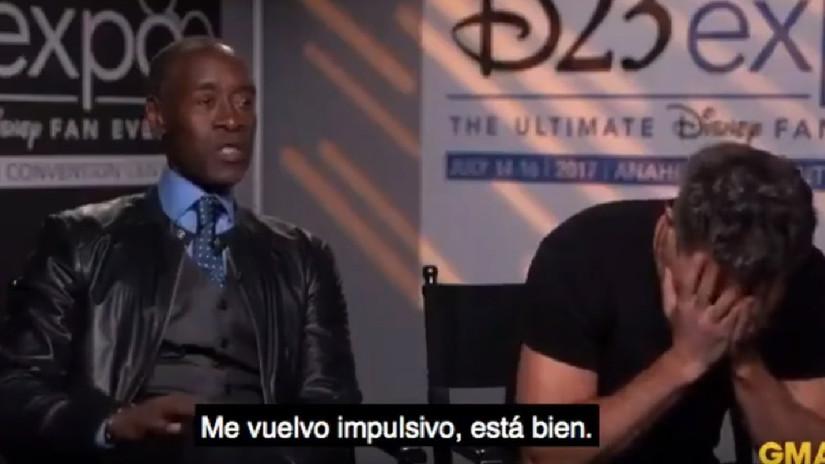 Mark Ruffalo hizo spoiler del final de Avengers: Infinity War hace un año y nadie se dio cuenta