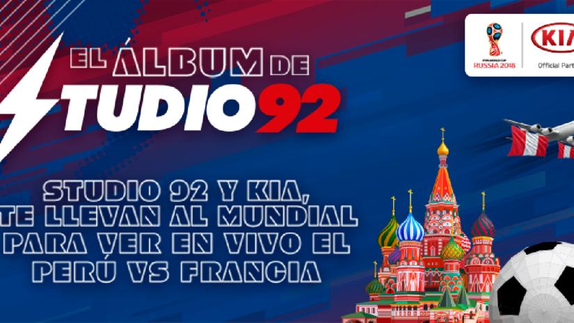 ¡Studio92 y Kia te llevan al mundial para ver a Perú en vivo!