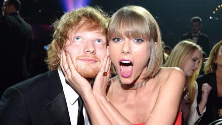 Taylor Swift habló sobre los inicios en la música de Ed Sheeran