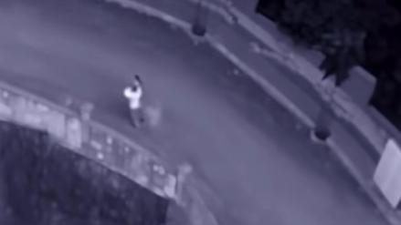 YouTube: Video muestra a supuesto fantasma siguiendo a pareja