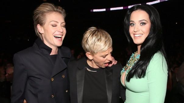 Ellen DeGeneris publica foto inapropiada de Katy Perry