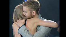 Sucedió en el iHeartRadio Music Awards en abril. Un abrazo que muchos recordarán por lo efusivo que fue.