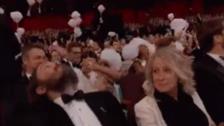 Oscar 2017: Jimmy Kimmel hizo caer caramelos del cielo