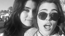 Integrante de Fifth Harmony enciende las redes sociales con hija de Carlos Vives