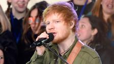 Ed Sheeran olvidó letra de canción y esta fue su reacción