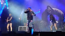 Vivo X El Rock 9: Vanilla Ice hizo bailar a todos los fans en el Nacional
