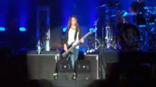 Vivo X El Rock 9: Hijo de Robert Trujillo se lució con Korn en el Nacional