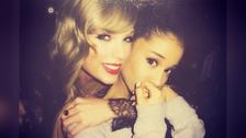Ariana Grande llegó a Estados Unidos gracias a la ayuda de Taylor Swift