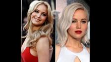 Al terminar Jennifer Lawrence su relación con el actor Nicholas Hoult, JLaw pasó de rubia nude a un rubio platinado.