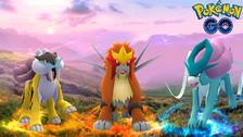 Pokémon Go: Los perros legendarios ya están disponibles