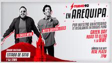 Studio92 En Arequipa: Mira todo lo que está pasando en la ciudad blanca