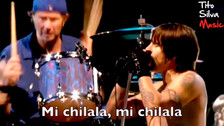 Facebook | Red Hot Chilli Peppers cantando Mi Chilala se vuelve viral