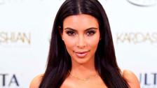 Kim Kardashian sorprende llegando a un evento sin pantalones