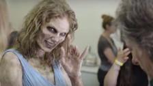 Video | Así fue como Taylor Swift se transformó en zombie
