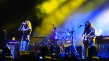 Incubus ya está en el escenario como previa del espectáculo de Maroon 5