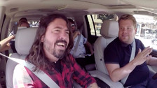 Foo Fighters puso de cabeza el Carpool Karaoke