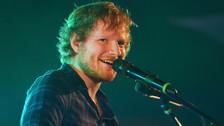 Ed Sheeran marca un nuevo récord en Spotify gracias a