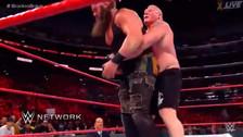 WWE No Mercy: Brock Lesnar ganó a Strowman y se mantiene como campeón