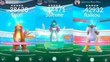 Pokémon Go: Suicune, Entei y Raikou rotan de continente