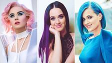 Katy Perry está de cumpleaños, revive sus coloridos looks a través de los años