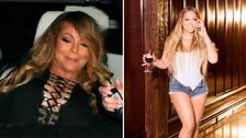 Mariah Carey se operó para bajar de peso, ¡mira cómo luce!