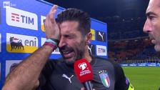 Video | Las lágrimas de Buffon conmueven al mundo