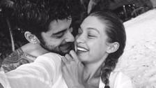 Gigi Hadid y Zayn Malik se lucen así de tiernos en su segundo aniversario