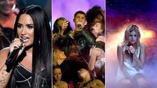 AMAs 2017: Las vibrantes actuaciones de Demi Lovato, Selena Gomez y Nick Jonas