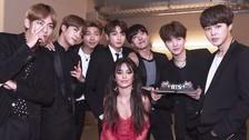 AMAs 2017: Los chicos de BTS cantando