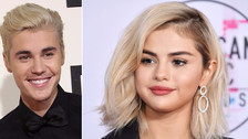 A Justin Bieber le encanta el cabello rubio de Selena Gomez