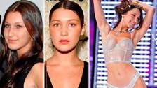 Bella Hadid: El increíble antes y después de la modelo en fotos