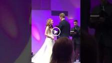 Youtube | Padrino de boda se quedó dormido durante el sermón y su caída se volvió viral