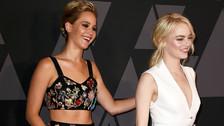 Jennifer Lawrence confiesa que no fue a los Golden por