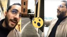 Maluma sorprende a una paparazzi que le tomó fotos en Italia