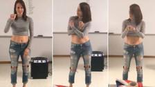 Joven interpreta 'Felices los 4' de Maluma en lengua de señas y causa furor en redes