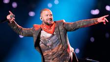 Así fue la presentación de Justin Timberlake en el medio tiempo del Super Bowl
