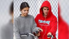 Justin Bieber y Selena Gomez no esconden su amor por San Valentin