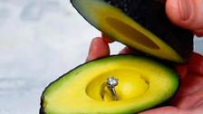 Instagram: Insólita forma de pedir matrimonio con una palta se vuelve viral