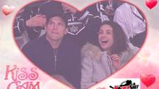 Youtube: el apasionado beso que Ashton Kutcher y Mila Kunis se dieron en la Kiss Cam
