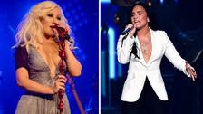 Demi Lovato le responde a Christina Aguilera