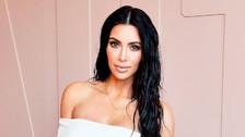 Así fue el desnudo completo de Kim Kardashian para promocionar su nueva fragancia