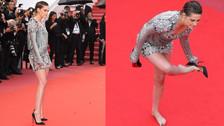 Kristen Stewart se rebeló contra el protocolo de Cannes y esto fue lo que pasó