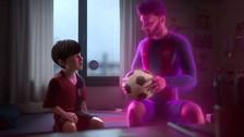 Facebook: el corto animado que cuenta la historia de Lionel Messi en 5 minutos